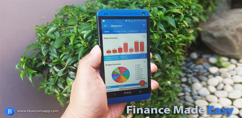آپدیت دانلود Bluecoins- Finance And Budget Full  | برنامه مدیریت منابع مالی شخصی اندروید