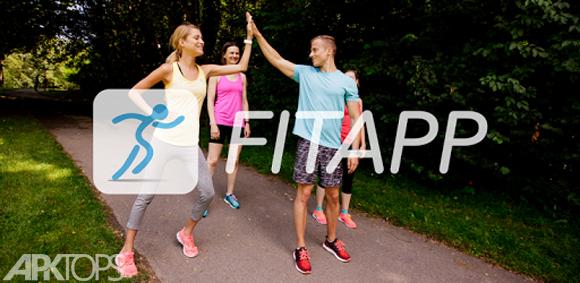 FITAPP Running Walking Fitness v5.2.2 دانلود جی پی اس و محاسبه فاصله و سرعت برای اندروید | نسیم دانلود