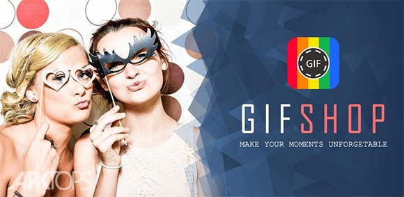 GIFShop Pro GIF Maker video to GIF GIF Editor دانلود برنامه ساخت تصاویر متحرک گیف