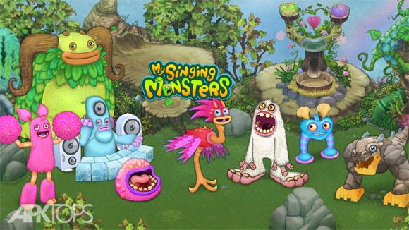 My Singing Monsters v2.1.8 دانلود بازی هیجان انگیز هیولاهای اندروید | نسیم دانلود