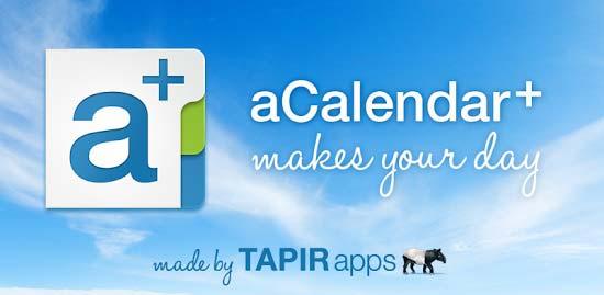aCalendar+ Calendar & Tasks v1.17.4 دانلود نرم افزار تقویم حرفه ای اندروید | نسیم دانلود