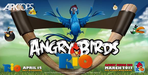 Angry Birds Rio v2.6.8 دانلود بازی پرندگان خشمگین ریو برای اندروید اندروید | نسیم دانلود