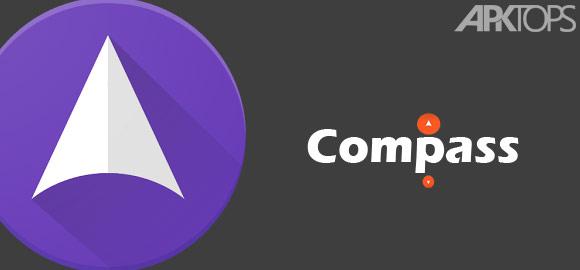 Compass Pro v1.6.4 دانلود برنامه قطب نما برای اندروید اندروید | نسیم دانلود