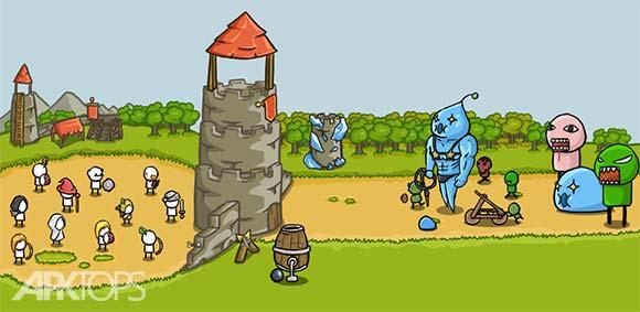 Grow Castle v1.20.1 دانلود بازی زیبای صعود قلعه اندروید | نسیم دانلود