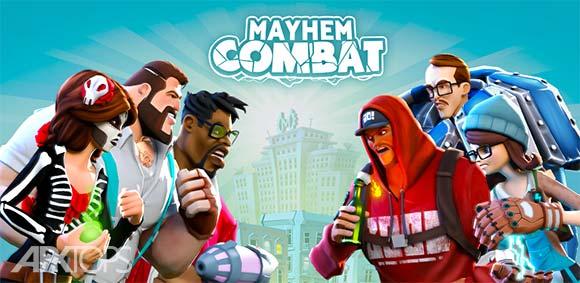 Mayhem Combat Fighting Game v1.4.8 دانلود بازی مبارزه پر جراحت اندروید | نسیم دانلود