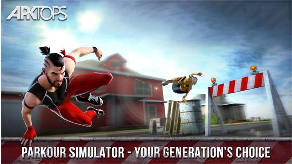 Parkour Simulator 3D v1.3.41 دانلود بازی شبیه ساز پارکور   نسیم دانلود