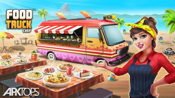 Food Truck Chef™: Cooking Game v1.3.6 دانلود بازی سرآشپز رستوران سیار برای اندروید | نسیم دانلود