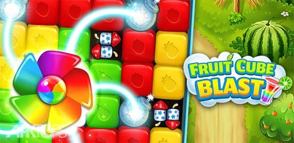 Fruit Cube Blast v1.2.3 دانلود بازی معتادکننده انفجار میوه های مکعبی | نسیم دانلود