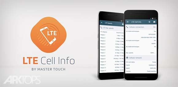 LTE Cell Info Network Status دانلود برنامه نمایش اطلاعات اتصال دیتای شبکه