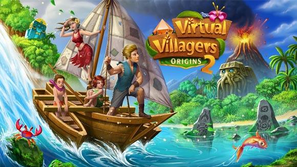 Virtual Villagers Origins 2 v1.5.20 دانلود بازی روستاهای مجازی ۲ برای اندروید اندروید | نسیم دانلود