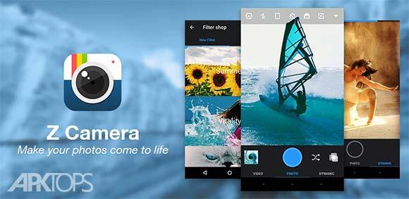 Z Camera v4.16 دانلود برنامه عکاسی حرفه ای زد کمرا اندروید | نسیم دانلود